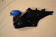 Genuine OEM BMW K1200S Left Side Tank Cover Black & Blue 46617703249