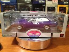 Geeenlight 1/18 1971 Dodge Challenger  1 of 750 supercar collectible. Item 50808