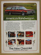 1979 Chevrolet Caprice Classic Station Wagon 6x photo vintage print Ad