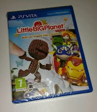 LITTLE BIG PLANET Marvel Super Hero Edition PS Vita New Sealed UK PAL PSV