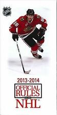 2013-14 Official Rules of the NHL by National Hockey League (Paperback /...