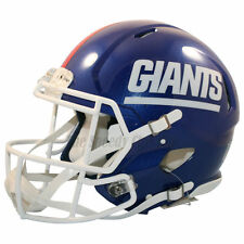 NEW YORK GIANTS COLOR RUSH RIDDELL SPEED AUTHENTIC FOOTBALL HELMET