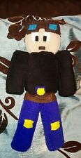 Dantdm soft minecraft inspired handmade polaire peluche 11 pouces