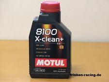 Motul 8100 X-clean + 5W-30 C3  1 Ltr  VW 50400 50700 MB 229.51