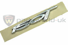 Brand new Genuine Fiat Bravo chrome effect 150T T-Jet badge / emblem 46003450
