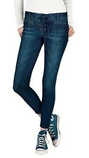2015 NWT WOMENS VOLCOM SUPER STONED ANKLE JEANS $65 5 double down indigo soft