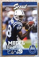 INDIANAPOLIS COLTS - SEATTLE SEAHAWKS 2006 GAME PROGRAM- SB XLI CHAMPS! HARRISON