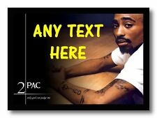 Tupac Personalised Computer Mouse Mat