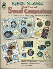 PAPER PIZAZZ Sweet Companions   HOTP 3056 Paper for  Scrapbooking Crafts