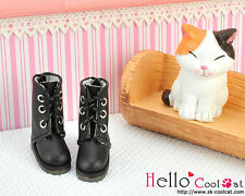 ☆╮Cool Cat╭☆【04-01】Blythe Pullip Doll Shoes Boots # Black