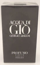 Acqua Di Gio Profumo by Giorgio Armani Parfum Spray 2.5 oz - 75 ML New Sealed