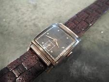 Vintage Langley Royce SXK 17 Jewels Art Deco MidCentury Swiss Sub Second Watch