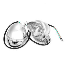 "1Pcs Motor 4"" Motorcycle Custom Chrome Spot Light Fog Light Head Lamp for Honda"