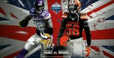 NFL Tickets & Hotel Package for 2. Vikings Vs Browns London Twickenham 29/10