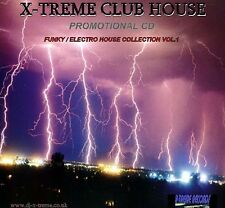 X-TREME CLUB HOUSE VOL 1 (ELCTRO/FUNKY) DJ MIX CD