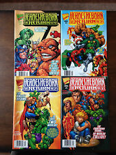 HEROES REBORN THE RETURN COMIC SET #1-4 MARVEL COMICS NEAR MINT PETER DAVID