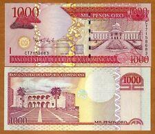 Dominican Republic, 1000 Pesos Oro, 2009,  Pick 180b, UNC