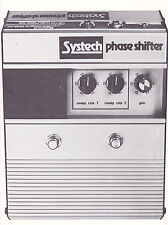 VINTAGE AD SHEET #3155 - 1975 SYSTECH PHASE SHIFTER
