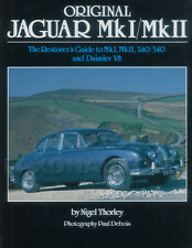 Jaguar Mark I and II Restorers Originality Guide 1955-1969 2.4 3.4 240 340 MK