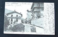 CARTOLINA TRENTO ALA VALLI DI LANZO RARA VIAGGIATA 1903 SUBALPINA ZZ