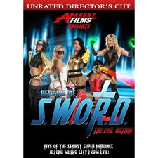 Heroines of S.W.O.R.D.: The Evil Within (DVD, 2014)-Super Hero-Sexy-Villain