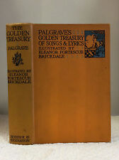 THE GOLDEN TREASURY OF BEST SONGS & LYRICAL POEMS IN ENGLISH LANGUAGE- Palgrave