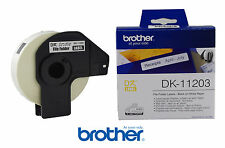 2x Brother DK-11203 Ordnerregister 17x87 mm Ql-560 QL-500 QL-700 QL-580 Original