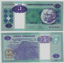 ANGOLA P144***5 KWANZAS***ND 2011***UNC GEM***LOOK SUPER SCAN