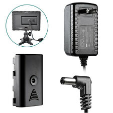 AC Power Adapter for CN-160 CN-126 Video LED light SONY NP-F550 NP-F970 F330 US