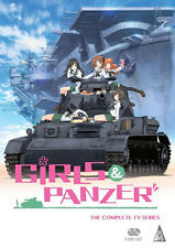Girls Und Panzer . The Complete TV Series Collection . Anime . 2 DVD . NEU . OVP