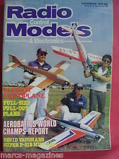 RCM&E DECEMBER 1979 DAVE BROWN MATT RADCLIFFE BLERIOT XI PART 1 PLAN BODDINGTON