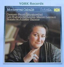 DG 415 446-1 - MONSERRAT CABALLE- Various Works - Excellent Condition LP Record