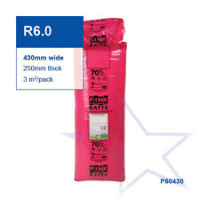 R6.0 | 430mm Pink Batts® Thermal Glasswool Ceiling Insulation