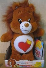 Care bears et cousins-brave heart lion avec dvd-adorable peluche