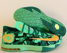 NIKE KD VI 6 EASTER LIGHT LUCID GREEN SZ 10 [599424-303]