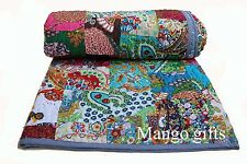 Winter Quilts Comforter Cotton Throw Blanket Quilted Patchwork Bedspread King