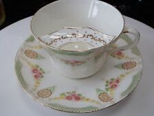 Antique Star China Co Paragon Moustache Breakfast Cup and Saucer  c1899-1919