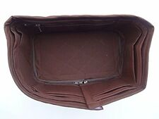 Speedy 35 LV Bag organizer Insert  Base Shaper Handbag Chocolate Brown Color