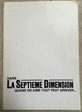 Dossier de Presse LA SEPTIEME DIMENSION Roland Amstutz MICHEL AUMONT *c