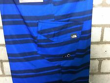 The North Face Board Corto Natación Playa Agua Azul 40 Wast XX Grande XXL 2XL BNWT