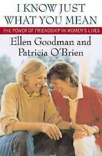 I Know Just What You Mean: The Power of Friendship in Women's Lives by O'Brien,