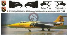 Peddinghaus 1/48 German F-104G Starfighter Kanarienvogel JaboG 33 Büchel EP1375