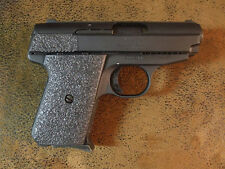 Black Textured Rubber Grips for the Jimenez J A .380 ACP