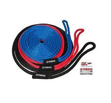 KWIK TEK Dock Line SBT-DLINE-20-RD Length 20 ft Red w/ Yamaha Logo Label