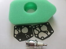 """FLYMO Lawnmower Tune up Kit Diaphragm, Air Filter Spark Plug~ Our Type """"A"""""""