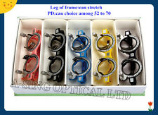 5pcs TF-AC Optical Optometry Color Trial Frame PD 52 54 56 58 60 62 64 66 68 70