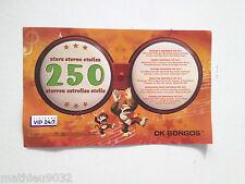 Vip Points de Donkey konga Bongos Nintendo Gamecube PAL FR