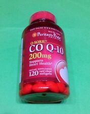 Coenzima Co Q-10 Q10 200 mg 120 perlas PURITAN¨S PRIDE