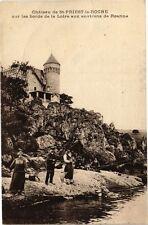 CPA  Cháteau de St-Priest-le-Roche sur les bords de la Loire aux...   (225917)