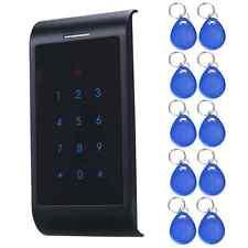 X8 Security RFID Entry Door Lock ID Password Keypad Access 10 Keys System Home